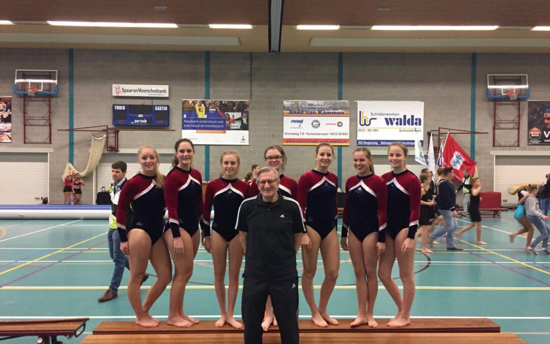 DOS Dronrijp Fries kampioen op nieuw springonderdeel!